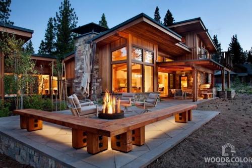 Фасады домов в стиле hi-tech