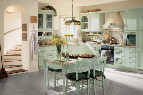 Интерьер деревянного дома | Стиль прованс
