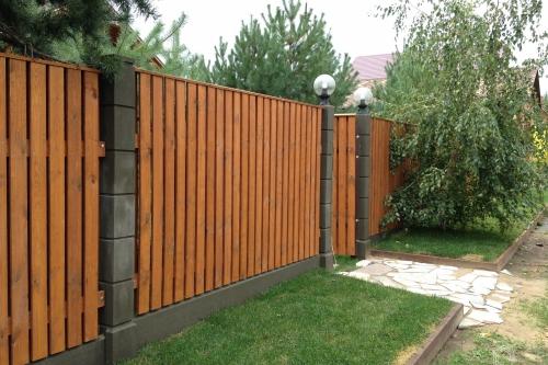 Ограды, заборы
