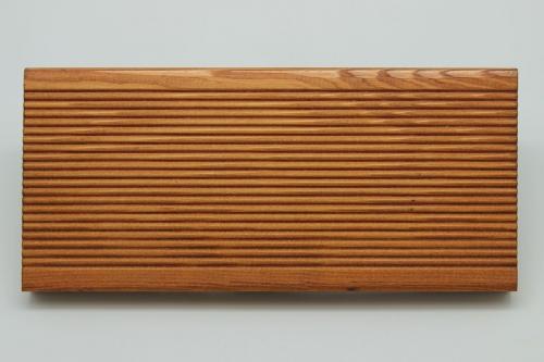 Террасная вельветовая доска из лиственницы