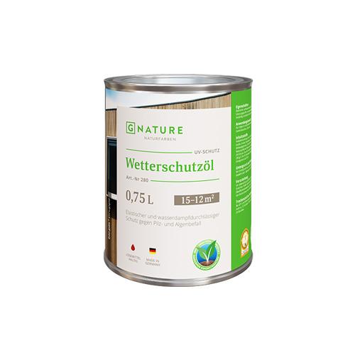 GNature Защитное масло для внешних работ