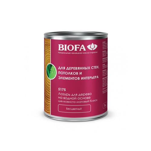 Biofa Лазурь для дерева на водной основе, бесцветная
